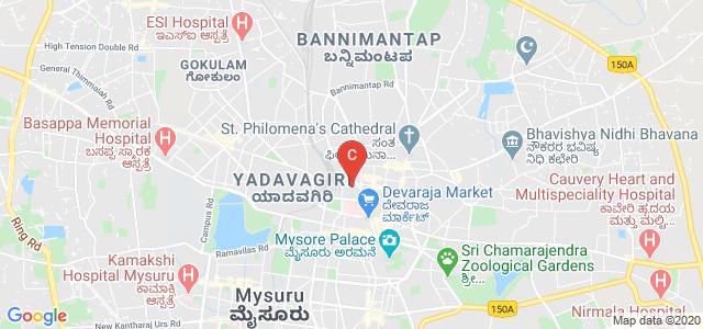 Maharaja's College, Mysore, University of Mysore, JLB Rd, Medar Block, Yadavagiri, Mysuru, Karnataka, India