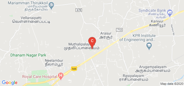 Maharaja Arts and Science College, Salem - Kochi Highway, Amman Nagar, Neelambur, Arasur, Tamil Nadu, India