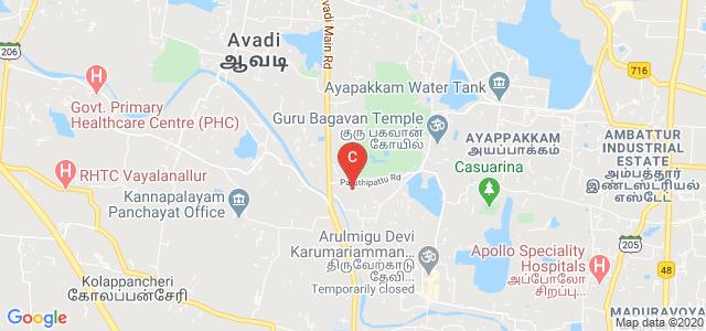 S.A Polytechnic College, Chennai, Tamil Nadu, India