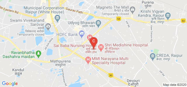 CG College Of Nursing, CG College of Nursing, Sector 2, Priyadarshini Nagar Colony, New Rajendra Nagar, Raipur, Chhattisgarh, India