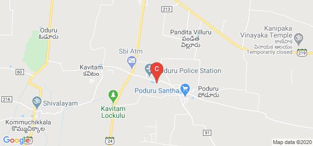 Col D S Raju Polytechnic College, Poduru Road, Poduru, Andhra Pradesh, India