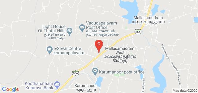 Mahendra Polytechnic College, Tiruchengode - Salem Main Road, Mahendrapuri, Nammakkal, Namakkal, Tamil Nadu, India
