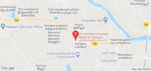 Sri Venkateshwaraa Medical College Hospital & Research Centre, Ariyur, Pondicherry, India