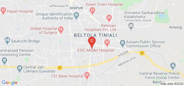 Sri Sankaradeva Nethralaya, Basistha Road, Saurabh Nagar, Beltola, Guwahati, Assam, India