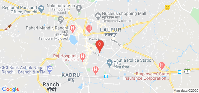 Government Polytechnic Ranchi, opt Barnabas hospital, Church Road, Bahu Bazar, Konka, Kanka, Ranchi, Jharkhand, India