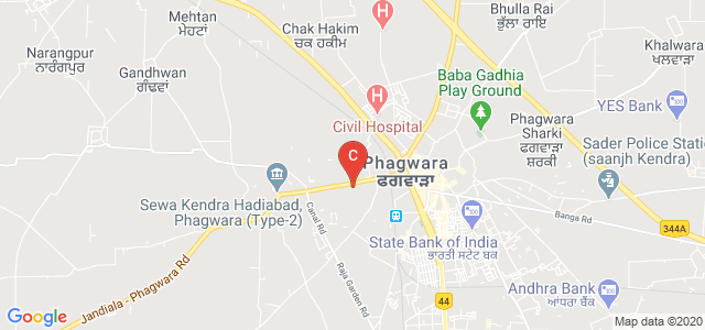 Ramgarhia Polytechnic College, Jandiala - Phagwara Road, Bhagat Pura, Phagwara, Punjab, India