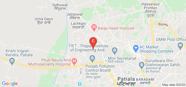 Thapar Polytechnic College, Adarsh Colony, Prem Nagar, Patiala, Punjab, India