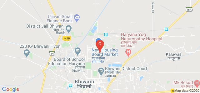 Ch. Bansilal Government Polytechnic college, Sector 13, HUDA, Bhiwani, Haryana, India