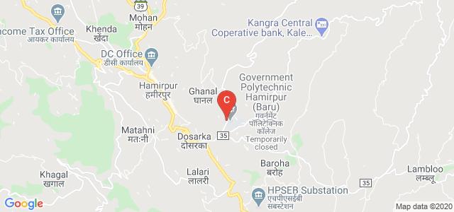 Government Polytechnic Hamirpur (Baru), Baru, Himachal Pradesh, India