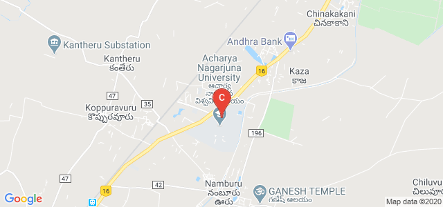 Nagarjuna University Main Rd, Guntur, Andhra Pradesh 522510, India