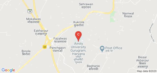 Amity University, Manesar, Panchgaon, Gurgaon, Haryana, India