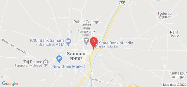 Adarsh Polytechnic College, Samana Patiala Road, VILLAGE DHAINTHAL, Samana, Patiala, Punjab, India