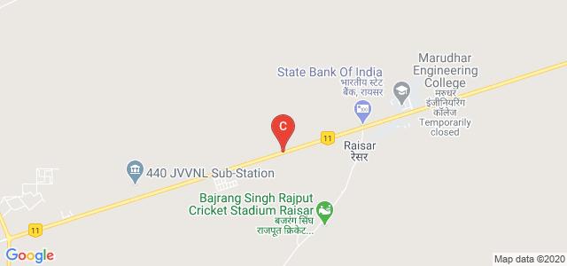 Rajasthan Polytechnic College, Bikaner, Jaipur Road, Raisar, Rajasthan, India