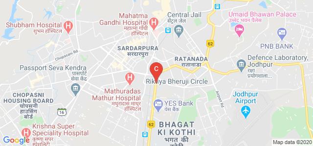 Government Polytechnic College, Residency Road, Ratanada, Jodhpur, Rajasthan, India