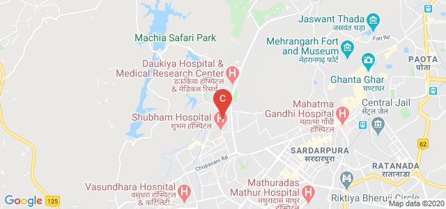 Lucky Institute of Professional Studies, ESI Hospital Road, Kamla Nehru Nagar, First Extension, Jodhpur, Rajasthan, India