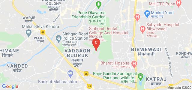 Sinhgad Dental College And Hospital, Sinhgad Road, Vadgaon Budruk, Pune, Maharashtra, India