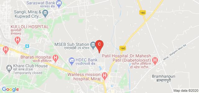 Government Polytechnic, Miraj, Vidyanagar, Maji Sainik Vasahat, Miraj, Maharashtra, India