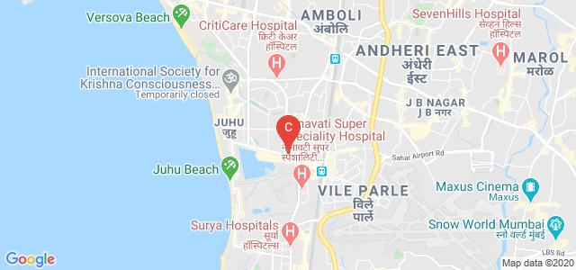 Balwant Sheth School of Architecture, Vaikunthlal Mehta Road, Navpada, Suvarna Nagar, Vile Parle West, Mumbai, Maharashtra, India
