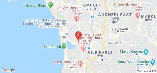 NMIMS University, Pherozeshah Mehta Road, Navyug Society, Navpada, Suvarna Nagar, Ville Parle West, Mumbai, Maharashtra, India