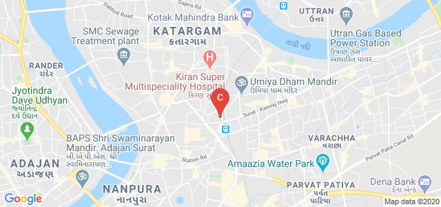 Shree J D Gabani Commerce & Shree Swami Atmanand Saraswati College of Management, Suryapur Gate, Varachha, Surat, Gujarat, India