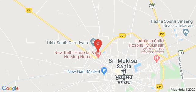 Guru Nanak College For Girls, Tibbi Sahib Road, Trnek Uman Area, Sri Muktsar Sahib, Punjab, India