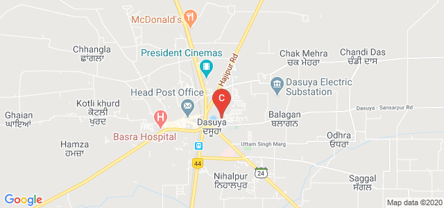 KMS College of IT and Management, DAV College Road, B.S Colony, Moti Nagar, Dasuya, Punjab, India