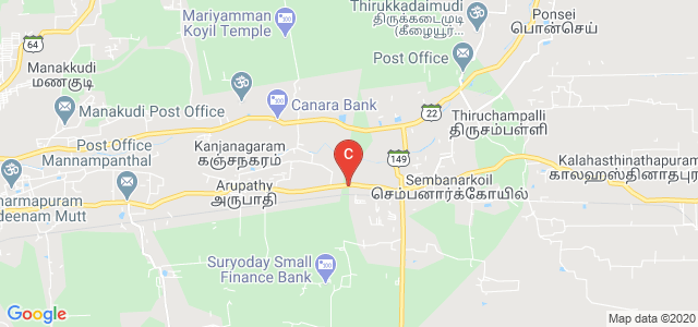 AVC Engineering College, Mannampandal, Mayiladuthurai, Nagapattinam, Tamil Nadu, India
