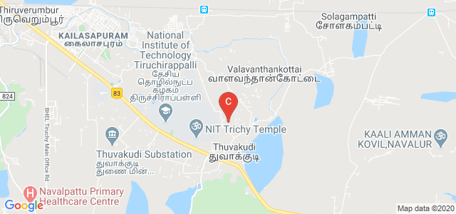 National Institute of Technology Tiruchirappalli, Tiruchirappalli, Tamil Nadu, India