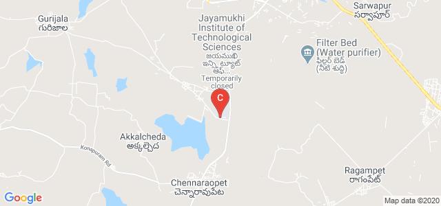 Jayamukhi Institute of Pharmaceutical Sciences, Makdumpuram, Telangana, India