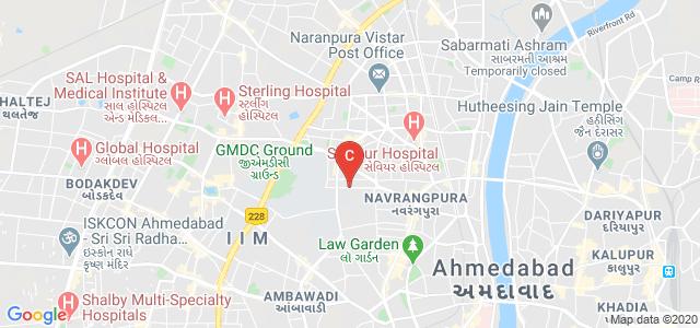 Ahmedabad University, Commerce Six Road, Swastik Society, Navrangpura, Ahmedabad, Gujarat, India