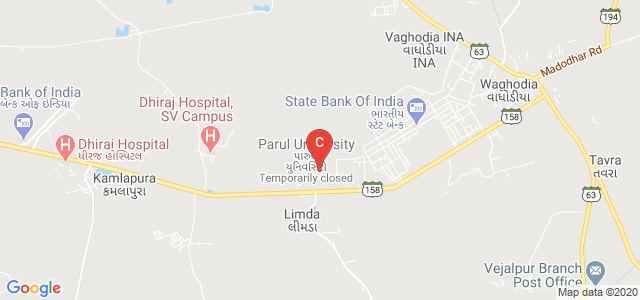 Parul Institute Of Pharmacy And Research, Waghodia, Gujarat, India