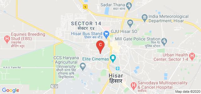 Dayanand College, Aggarwal Colony, Hisar, Haryana, India