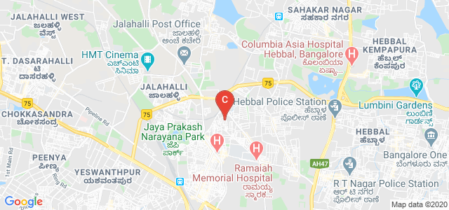 M S Ramaiah College of Arts, Science and Commerce, PG Dept of Management Studies, Chikkamaranahalli, M S R Nagar, MSRIT Post, Bengaluru, Karnataka, India