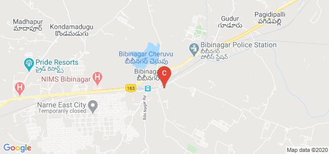 T D R Polytechnic College, Bibi Nagar To Lancer Paints, Bibinagar, Telangana, India