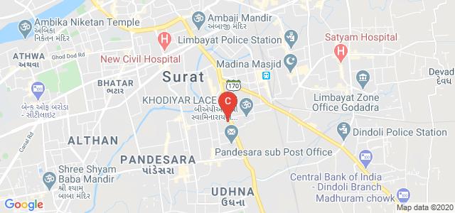 Udhna Citizen Commerce College & SPBCBA & UACCAIT College, Udhna - Navsari Main Rd, Ranchhod Nagar, Bhestan, Udhna, Surat, Gujarat, India