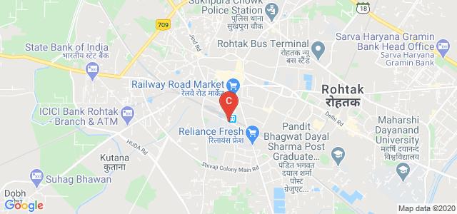 Vaish College Road, Railway Colony, New Grain Market, Rohtak, Haryana, India