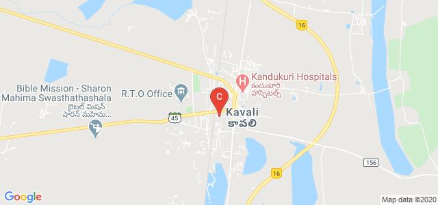 Sri Sai Degree College, Co-Operative Colony, Christian Peta, Kavali, Andhra Pradesh, India
