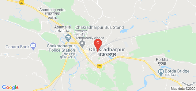 Chakradharpur, West Singhbhum, Jharkhand 833102, India