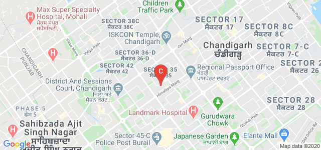 Sector 35C, Sector 35, Chandigarh, 160035, India