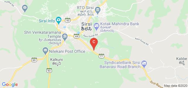College of Forestry, Sirsi, Banavasi Road, Sirsi, Karnataka, India