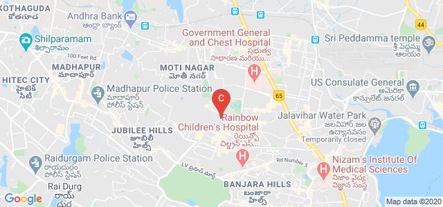 St. Mary's College, Tahir Ville, Yousufguda, Hyderabad, Telangana, India