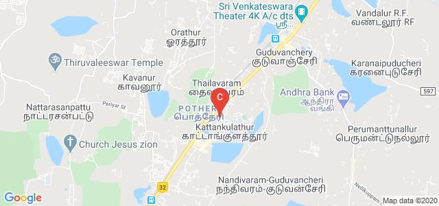 SRM Arts And Science College, Potheri, SRM Nagar, Kanchipuram, Tamil Nadu, India