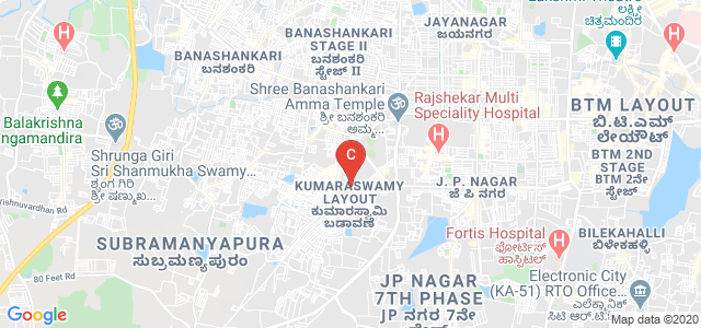 Dayananda Sagar College of Engineering, 1st Stage, Kumaraswamy Layout, Bangalore, Karnataka, India