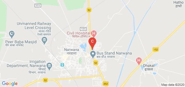 K M Govt College Narwana, Dharam Singh Colony, Narwana, Haryana, India