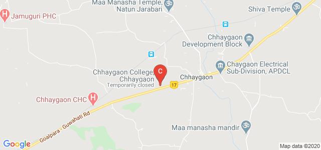CHHAYGAON COLLEGE, Chhaygaon, Kamrup, Assam 781124, India