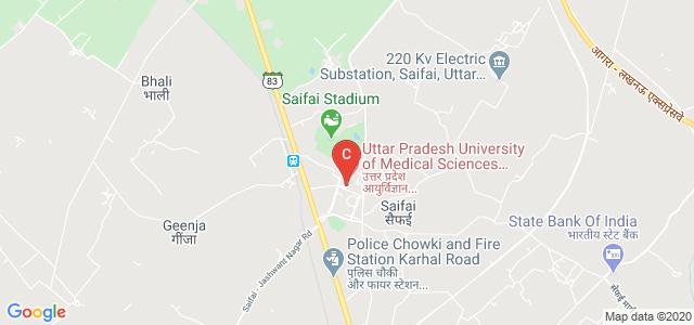 Uttar Pradesh University of Medical Sciences, Saifai, Etawah, SH 83, Saifai, Uttar Pradesh, India