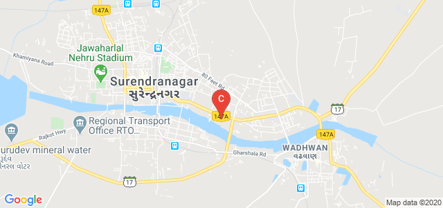 Shri M.P.Shah Commerce College, Road, Near S.T, Ram Nagar, Wadhwan, Surendranagar, Gujarat, India