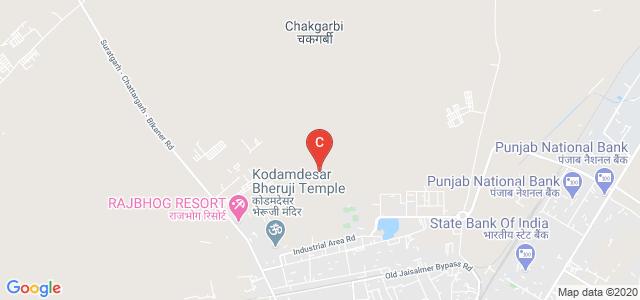 University College of Engineering and Technology, Bikaner, Pugal Rd, Karni Industrial Area, Bikaner, Rajasthan, India