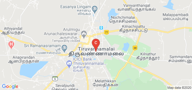 Sri Bharathi Women Arts & Science College, Mathiyazhagan, Tiruvannamalai, Tamil Nadu, India