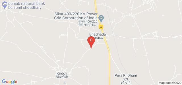 Swami Keshwanand College of Arts, Science And Commerce, Bhadhadhar Road, Kirdoli, Rajasthan, India